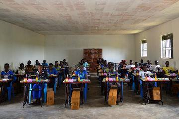 Sewing school without water - Abako, Uganda
