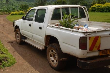 Geländewagen mit Ladefläche